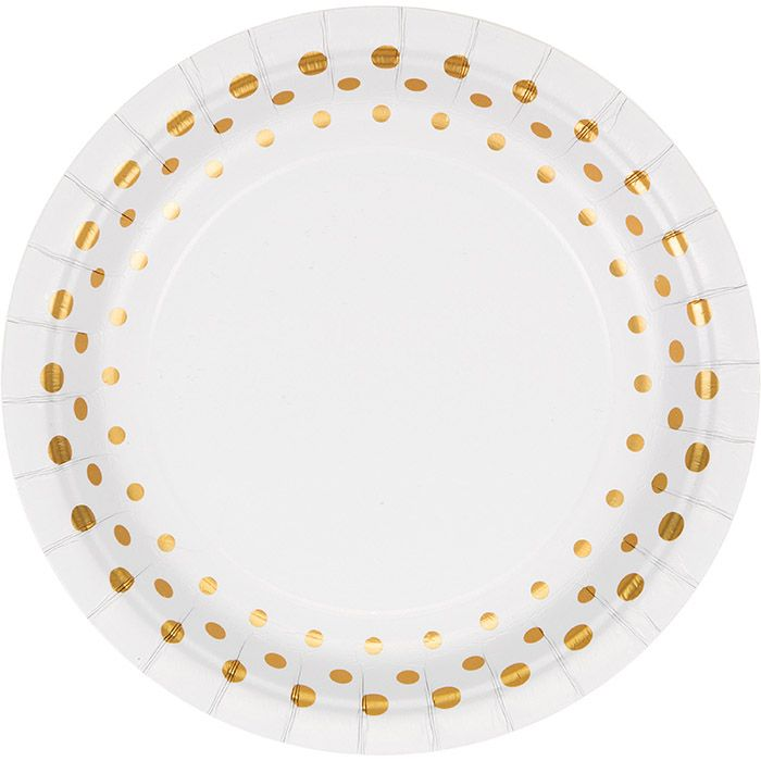 Bulk Sparkle and Shine Gold Foil Luncheon Plates - Napkins.com  sc 1 st  Pinterest & Bulk Sparkle and Shine Gold Foil Luncheon Plates - Napkins.com ...
