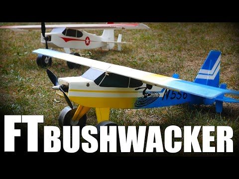 Flite Test Bushwacker Electric Airplane Kit (1143mm) | RC