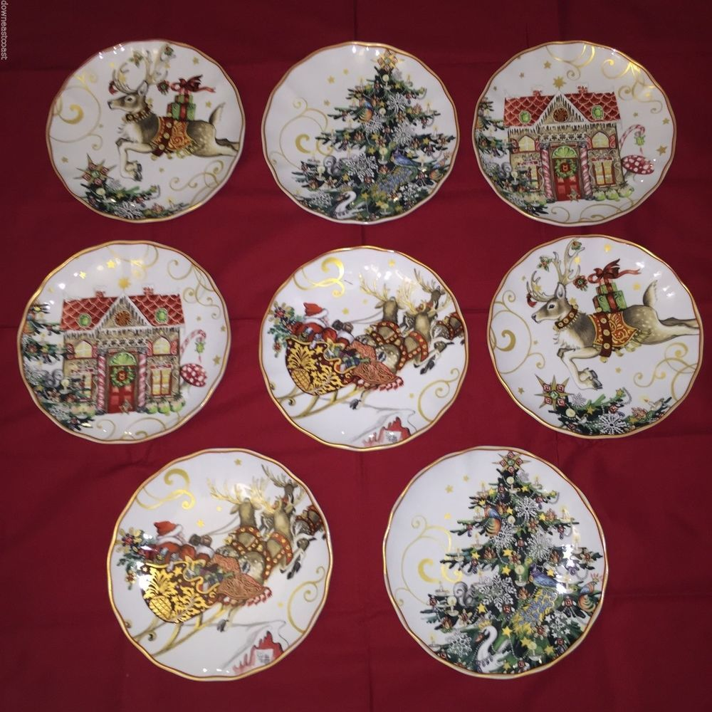 Williams Sonoma Christmas Plates.8 New Williams Sonoma Twas Twas The Night Before Christmas