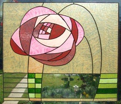 mackintosh rose style design | sg art nouveau, antiques, art deco