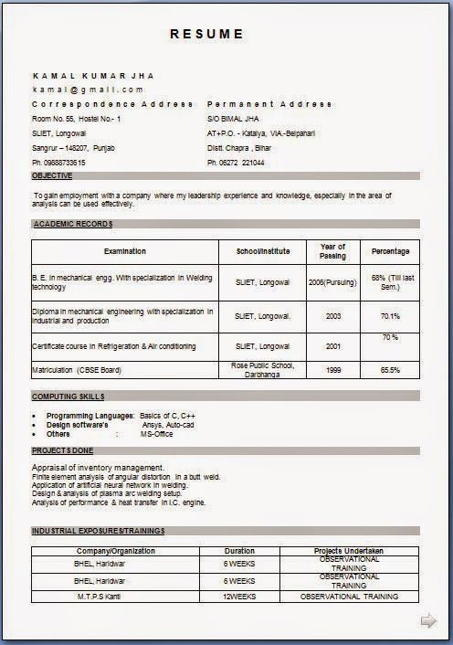 how to make my resume Sample Template Example of ExcellentCV - how to upload resume on resume