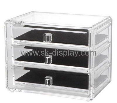 Custom Acrylic Makeup Drawer Storage Countertop Makeup Organizer