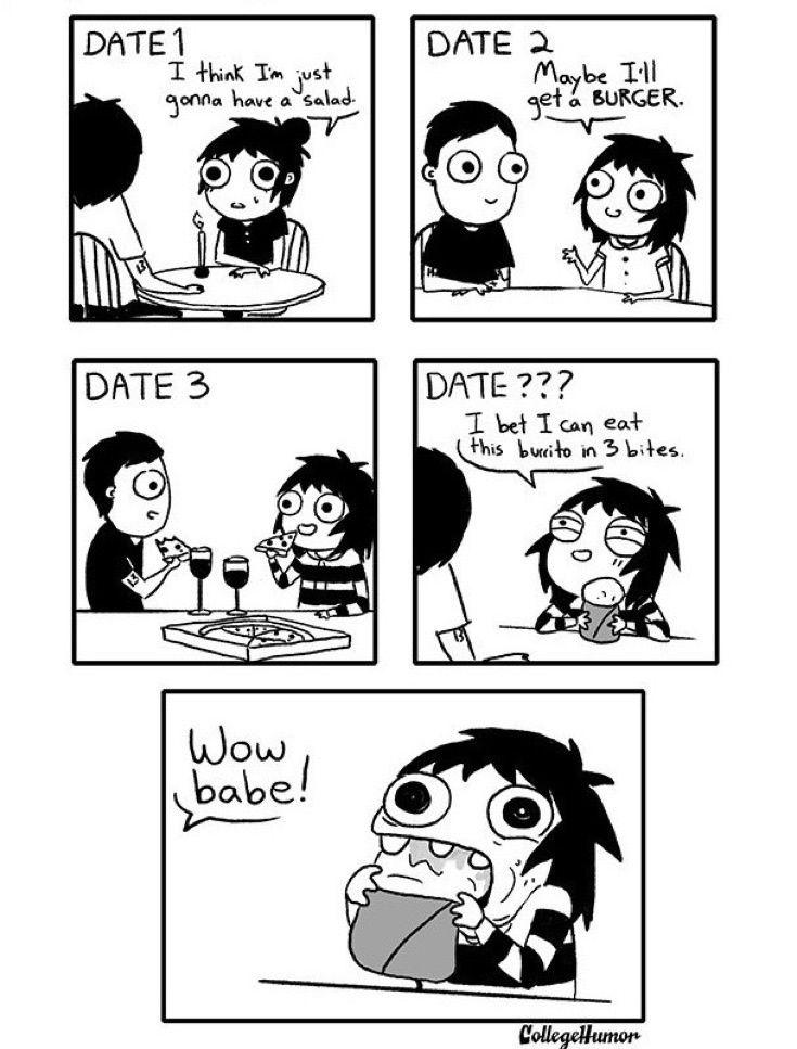 Dating vs relationship cartoon
