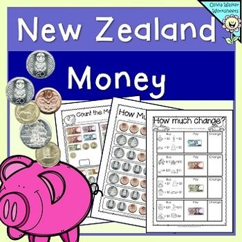 new zealand money worksheets printables lower primary year one two three maths money. Black Bedroom Furniture Sets. Home Design Ideas