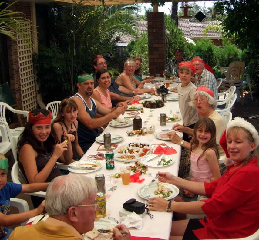 A Typical Aussie Christmas Lunch
