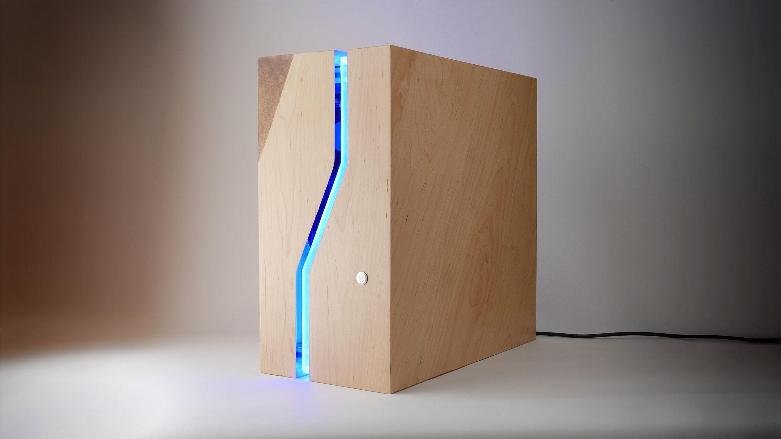 Wood Pc Case Minimalist Atx Enclosure Https Ift Tt 35htvy2 In 2020 Diy Computer Case Wood Computer Case Diy Pc Case