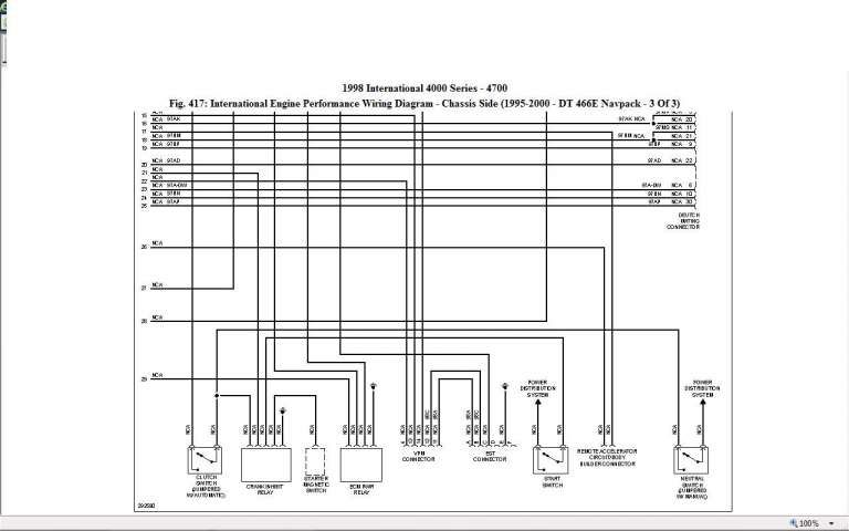 10 1998 International Truck Wiring Diagram Truck Diagram Wiringg Net Diagram International Truck Engineering