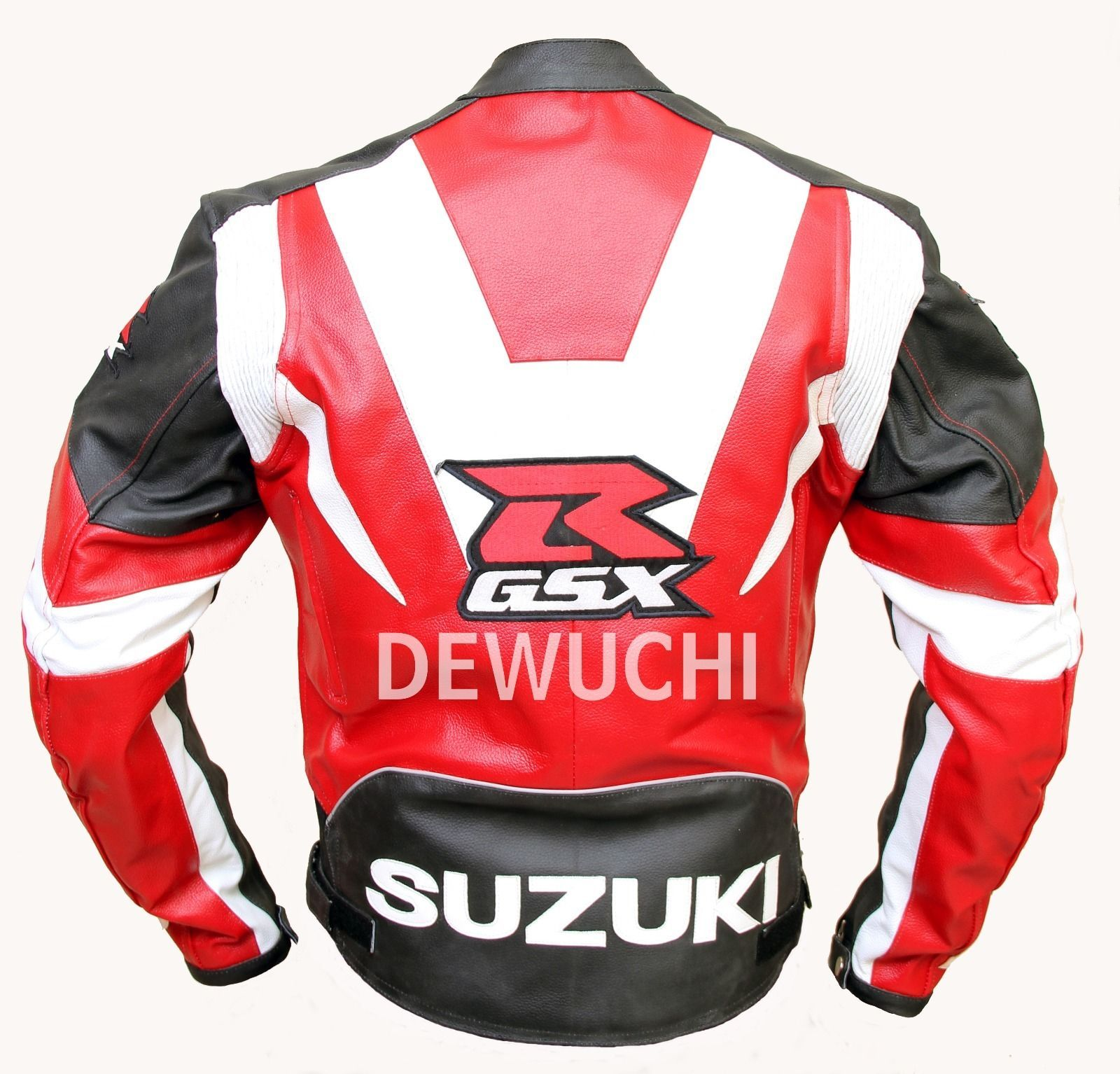 Suzuki motorbike Stylish Three Color combination Men's Leather ...