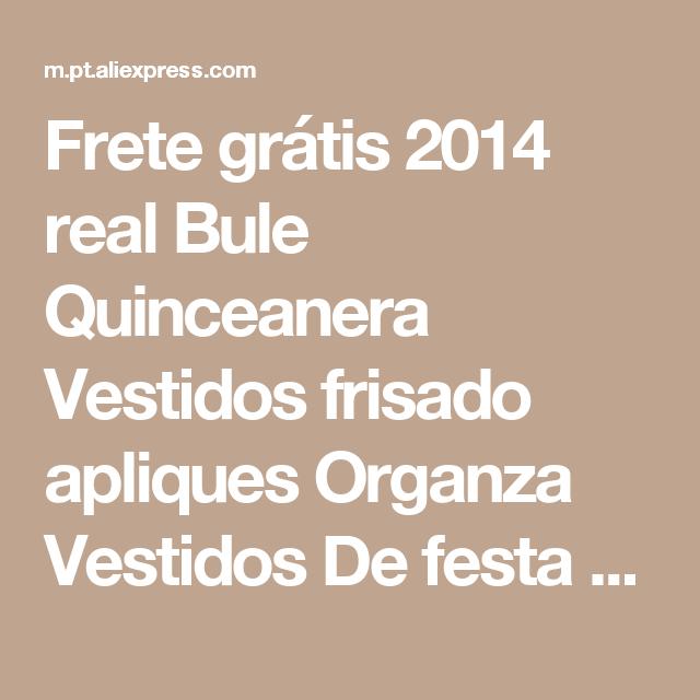Frete grátis 2014 real Bule Quinceanera Vestidos frisado apliques Organza Vestidos De festa para 15 ano Halter Vestidos De Gala BQ376 Loja Online | aliexpress móvel