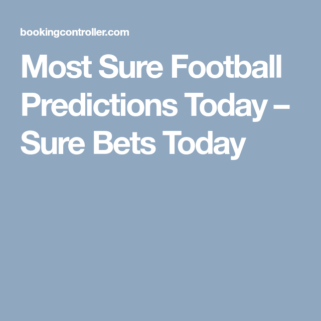 Most Sure Bets