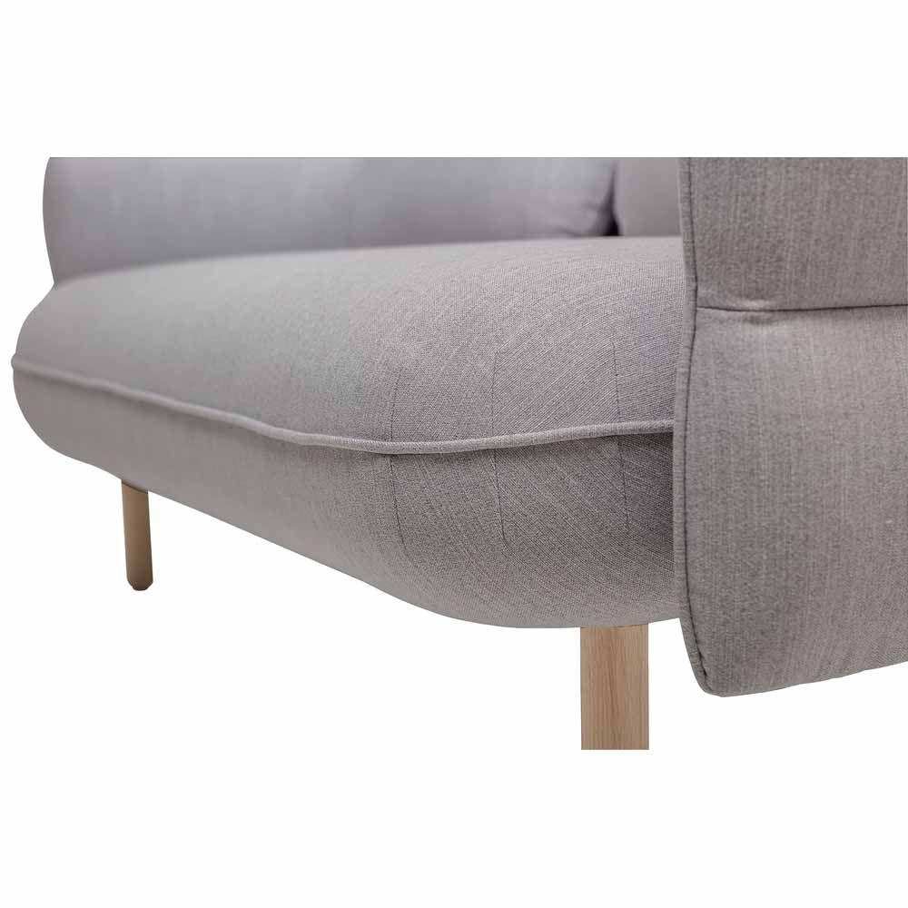 Graues Art Deco Sofa Online Bei Www Milanari Com Mit Bildern Skandinavische Mobel Sofa Grau