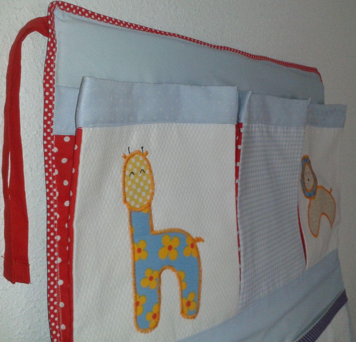 Tutorial bolsillero para cuna de beb organizador para cuna de beb costura hecha por m - Organizador de cuna ...