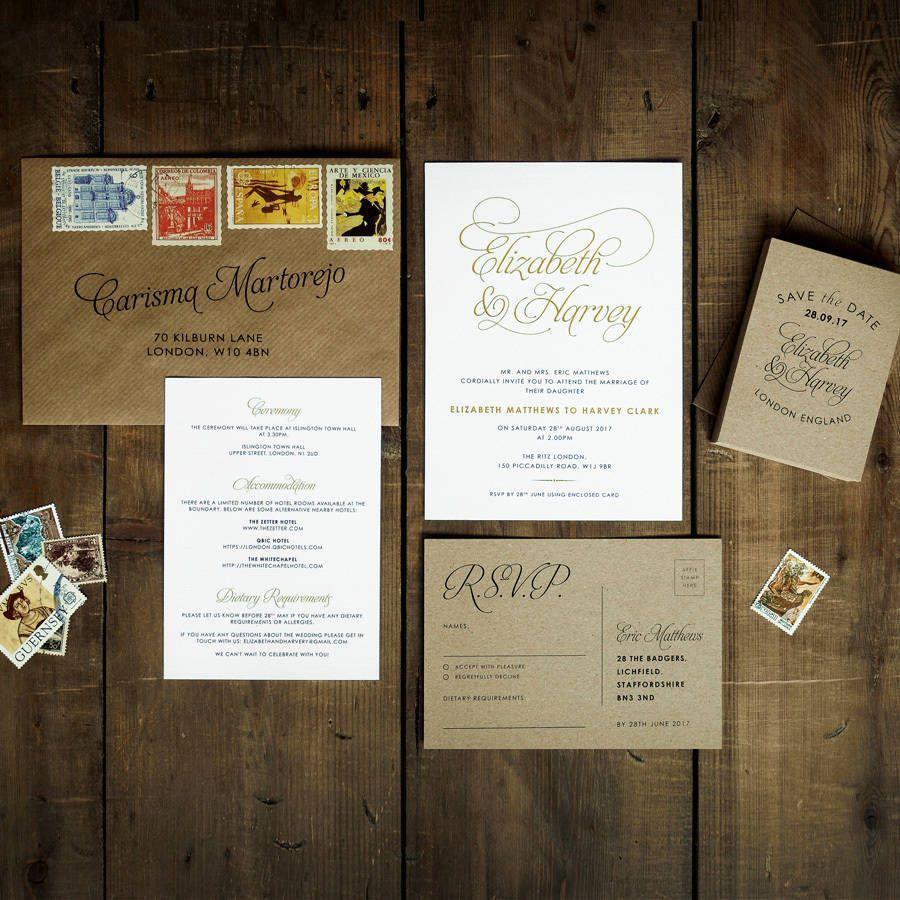 Baroque Wedding Invitation Set | Baroque, We and Wedding