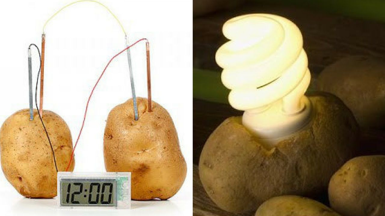 Make Electricity From Potato How to Get Electricity from