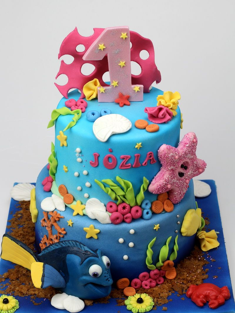 Finding Nemo Birthday Cake Best Novelty Cakes for KIds in London