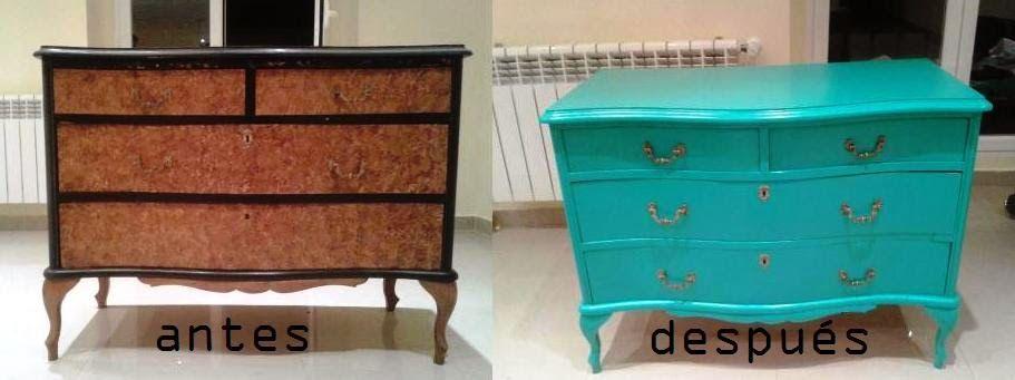 Junio 2014 remake lab decoraci n para la casa - Muebles restaurados vintage ...