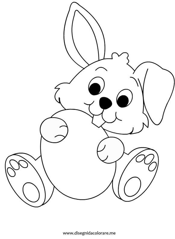easter bunny easter coloring pages