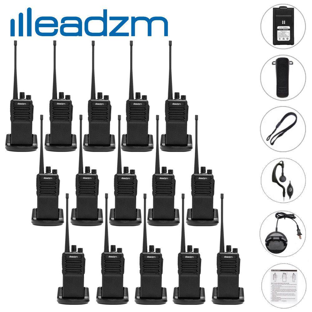 Leadzm C2 UHF 400-470MHz Two-Way Ham Radio Walkie Talkie Transceiver 16CH