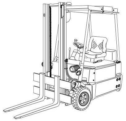 linde electric forklift truck 324 type explosion protected e15 02ex rh pinterest com