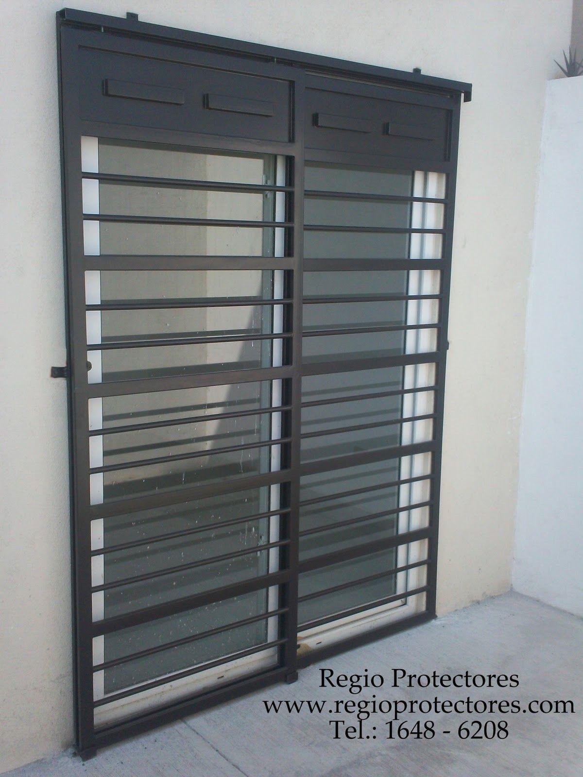 1 protectores para ventanas fracc las lomas sector - Rejas correderas para puertas ...