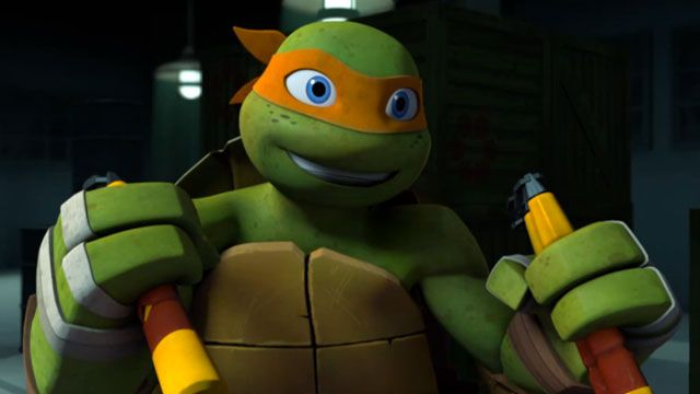 Greg Cipes On Voicing The Wildest Of The 'Teenage Mutant ... |Michelangelo Tmnt 2012 Cute