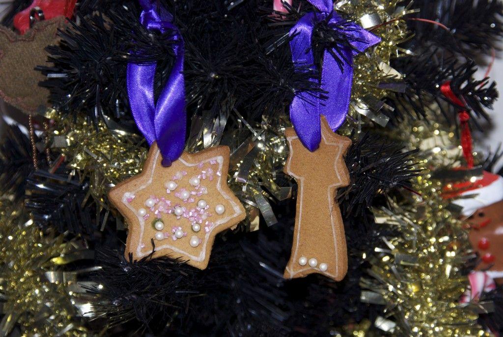 Gingerbread Christmas Decorations Seasonal Kids - Christmas