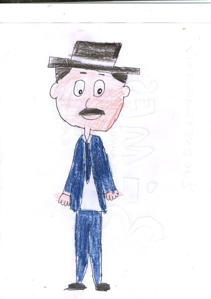 El Profesor Jirafales Caricatura