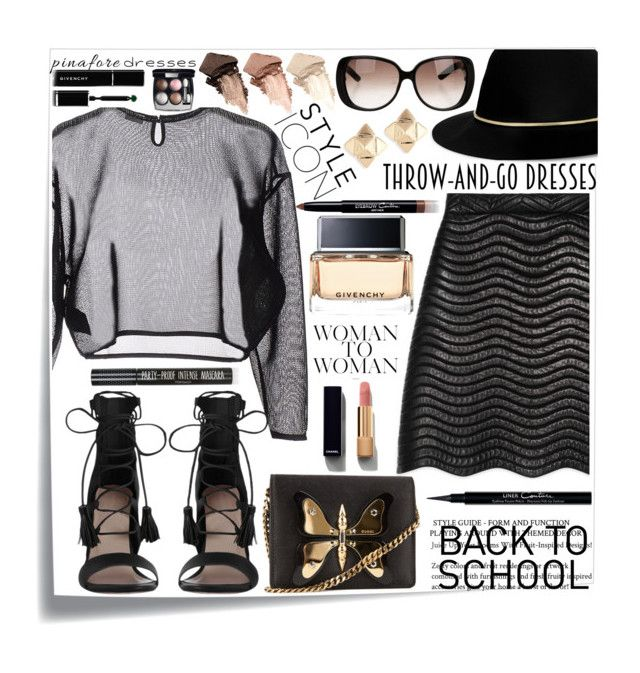 """""""Untitled #167"""" by ada-eve ❤ liked on Polyvore featuring Post-It, Yves Saint Laurent, Gucci, Zimmermann, Janessa Leone, Valentino, Givenchy, Chanel, Urban Decay and Topshop"""