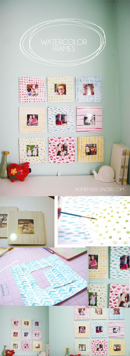 Watercolor Frames   Shadow box, frame,sign, holders and Tray ...
