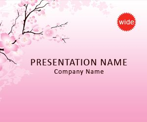 cherry blossom powerpoint template koni polycode co