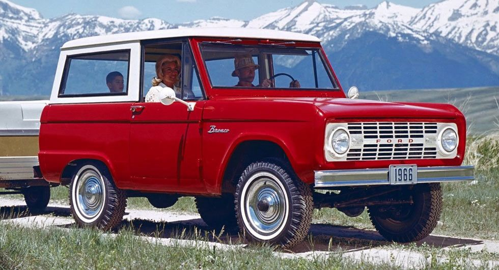 Ford Broncos Are Some Of The Hottest Classic Vehicles At The ...