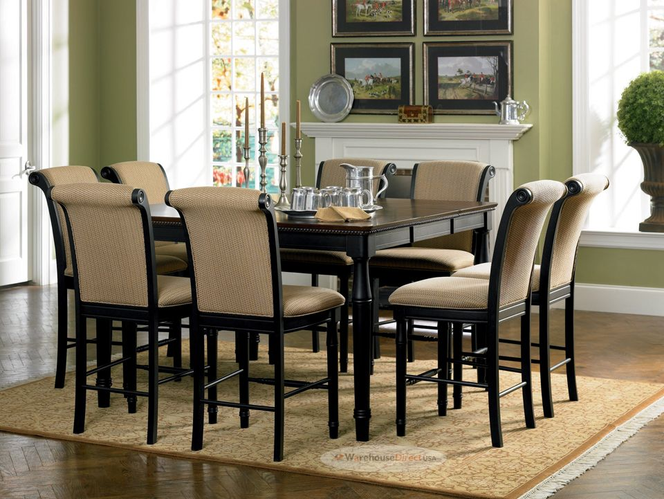 Seater Dining Table Chairs Freehome Interior Design Intended For Set Prepare Counter Height