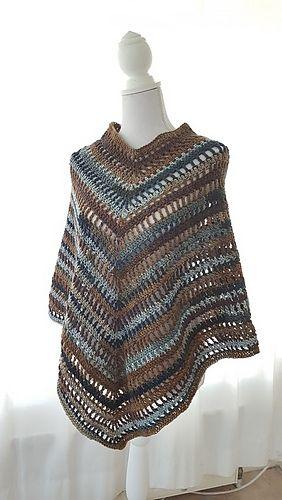 Ibiza Boho Poncho Pattern By Frisian Knitting Crochetpattern New Crochet Poncho Pattern Ravelry