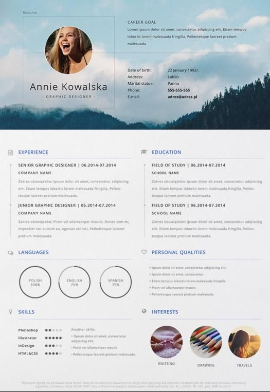 formatos para currículum Cv Pinterest Cv template, Resume cv