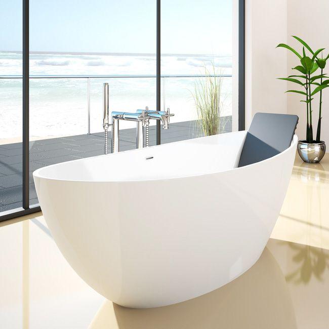 hoesch namur freistehende badewanne mineralguss ca 2500 bad pinterest freistehende. Black Bedroom Furniture Sets. Home Design Ideas