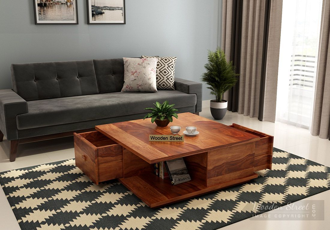 10 Stunning Wood Center Table For Living Room