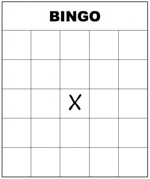 Free Printable Bingo Cards For Kids And Adults  Blank Bingo Cards