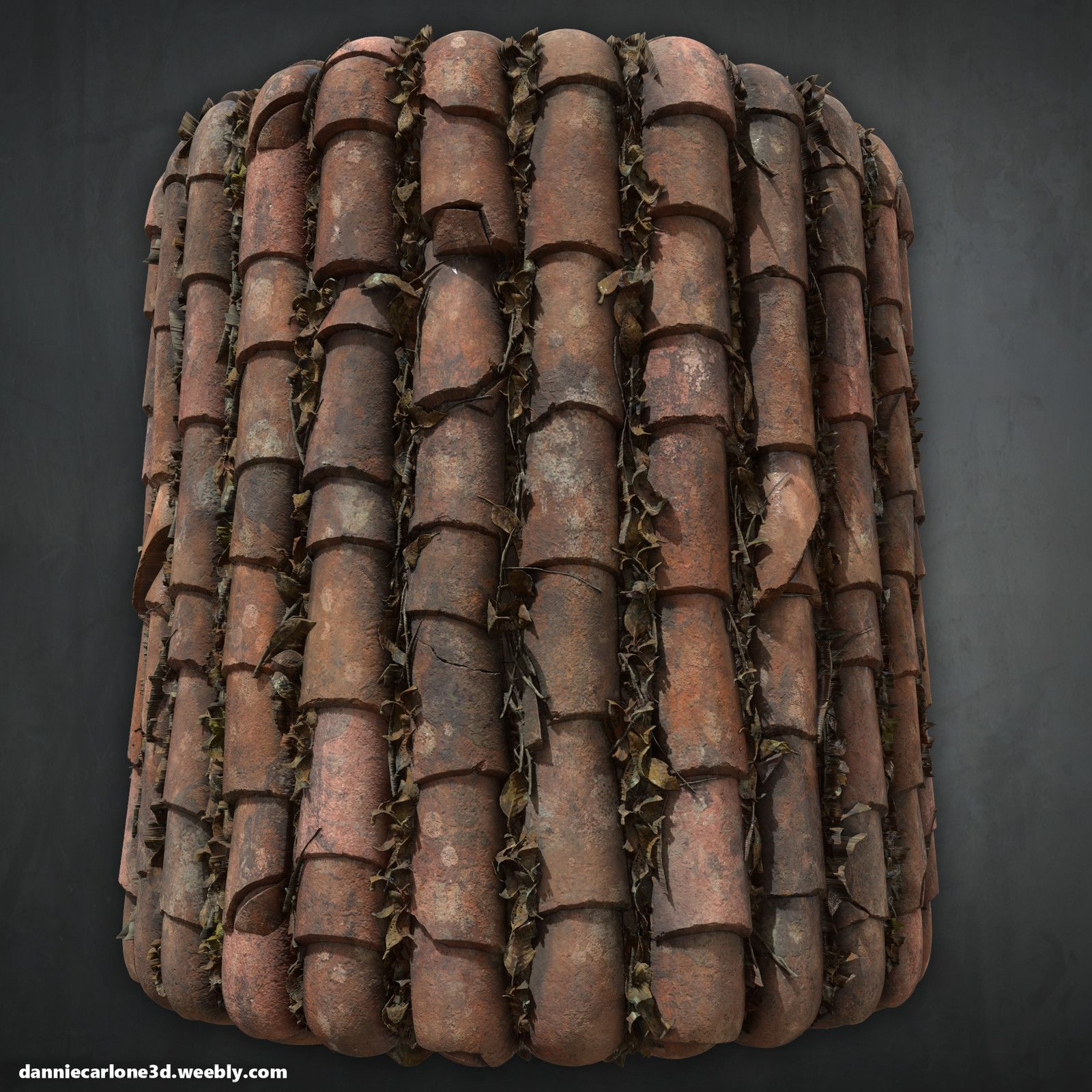 Old Roof Tiles Zbrush Substance Designer Dannie Carlone On Artstation At Https Www Artstation Com Artwork Rnwo2 Fibreglass Roof Roofing Cedar Roof