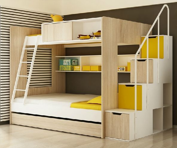Ergonomic Design Kids Bunk Bed Staircase Set Wholesale Mded Kendy