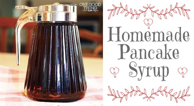 Make your own ridiculously easy and inexpensive homemade maple make your own ridiculously easy and inexpensive homemade maple syrup recipe homemade pancake syrup syrup and pancakes ccuart Image collections