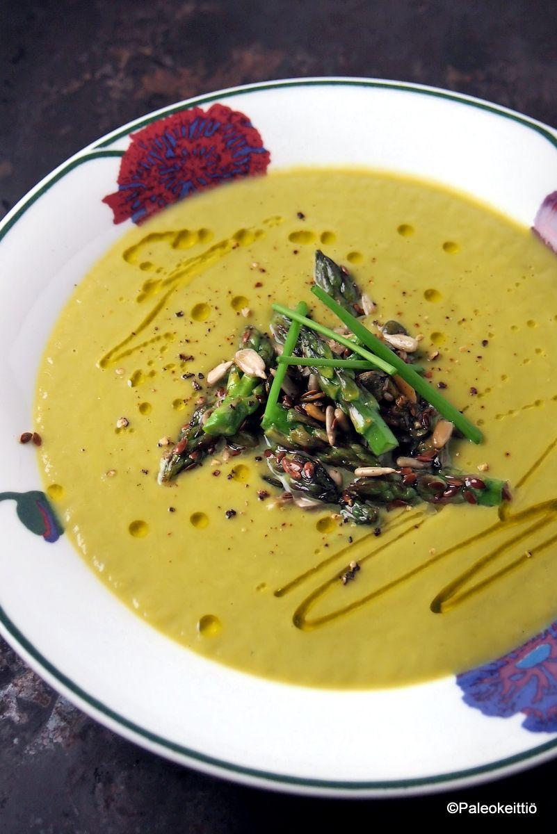 Keväinen parsa-fenkolisosekeitto | Paleokeittiö