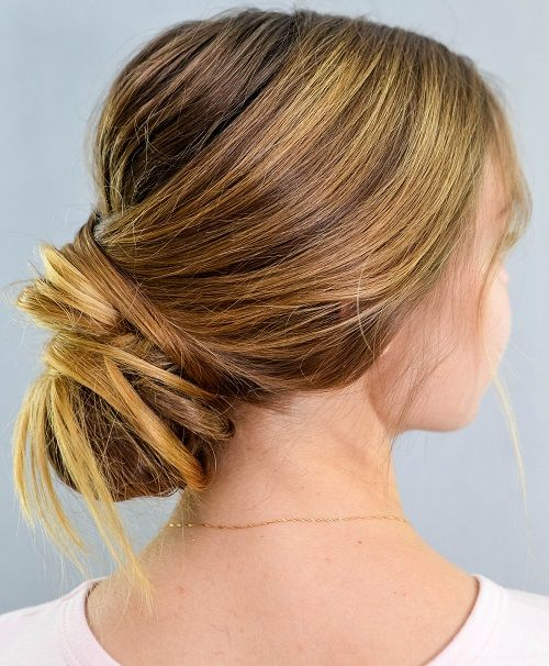 How To Make A Chic Chignon In 6 Easy Steps