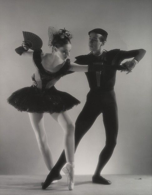 """George Platt Lynes (American, 1907–1955).Tanaquil Le Clercq and Jerome Robbins in """"Bourée Fantastique,"""" 1949. printed ca. 1953. The Metropolitan Museum of Art. New York. Gift of Lincoln Kirstein, 1986 (1986.1110.12)"""