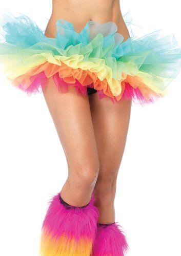 Leg Avenue Women/'s Organza Tutu One Size Light Pink