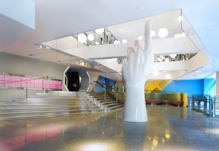 Commercial Building Interior Design Creative genesis commercial building lobby & creative working space