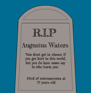 augustus waters dies gif - Google Search | Fault In Our ...