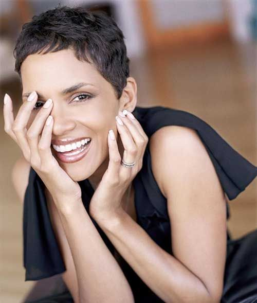 Halle Berry Short Hairstyles find this pin and more on never too short by nikfc how to get halle berry hairstyle Halle Berry Short Layered Haircut