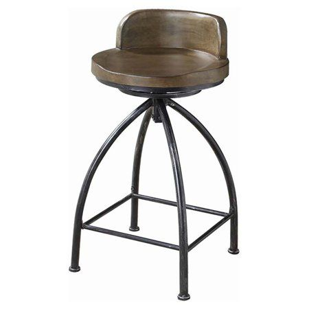 Awe Inspiring Coaster Swivel Bar Stool In Cognac Black In 2019 Products Gmtry Best Dining Table And Chair Ideas Images Gmtryco