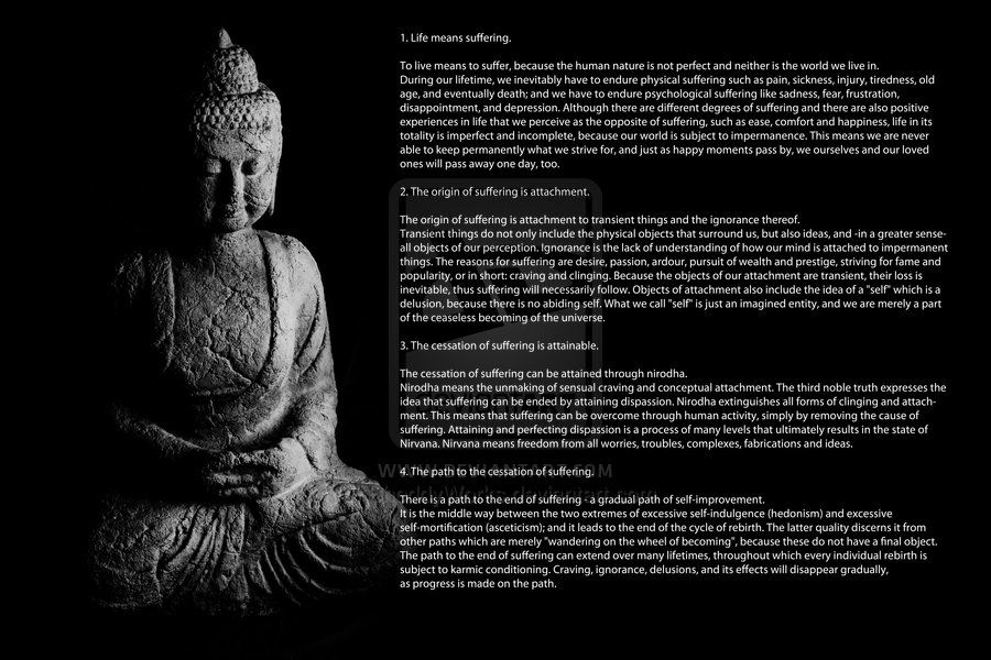 The Four Noble Truths | Lightworkers.org sorry you have to zoom to ...