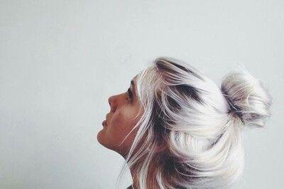 White Hair Tumblr Platinum Blonde Hair Hair Styles Hair
